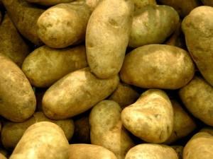 Из трёх клубней картофеля